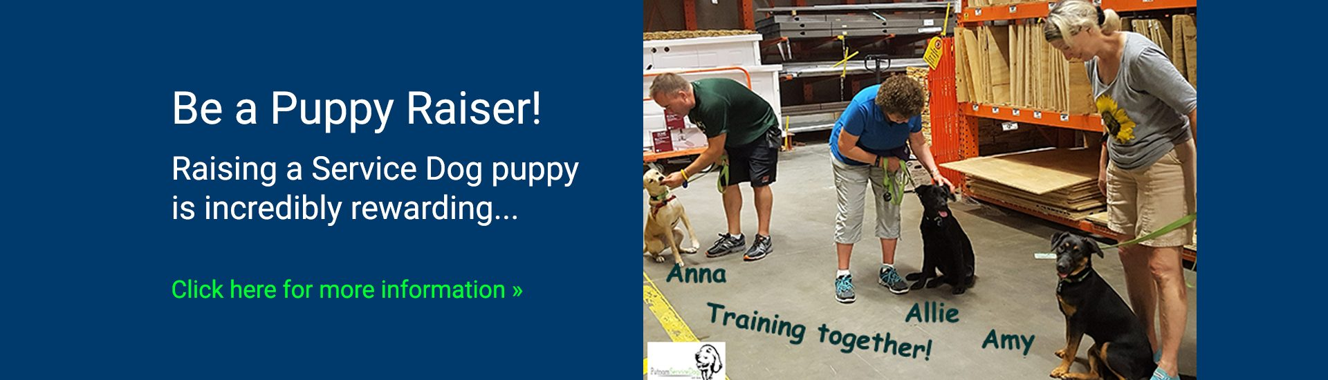 Become a Puppy Raiser