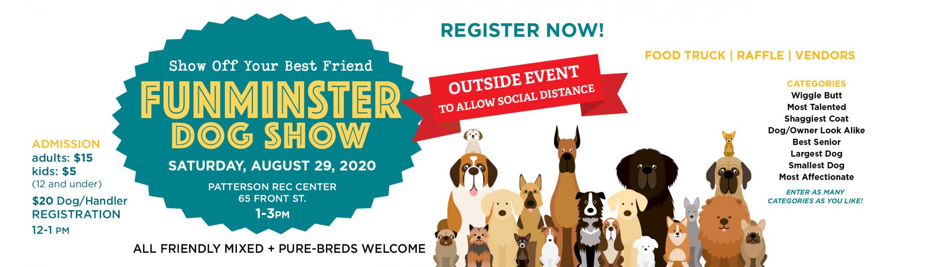 Putnam Service Dogs FunMinster Dog Show